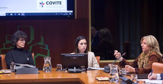 Covite en comisión del Parlamento Vasco