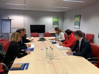 Company pide en Bruselas una tarifa máxima para los vuelos con la Península y un régimen especial agrario para Baleares