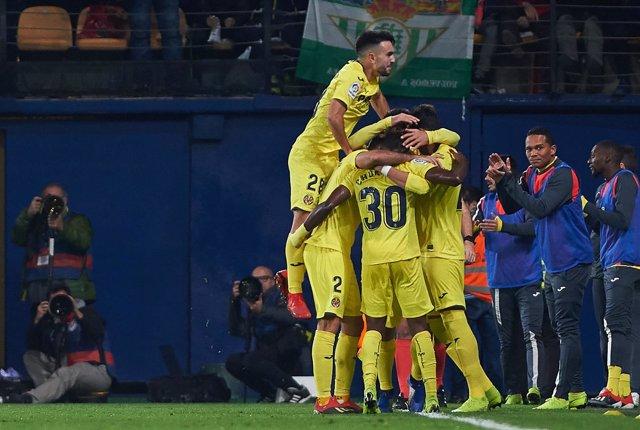 soccer: Villarreal v Real Betis - La Liga match