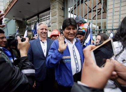Morales inscribe su candidatura a las elecciones primarias para los comicios generales de 2019