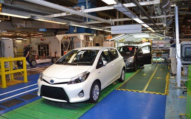 Los fabricantes japoneses cierran octubre con crecimientos en su producción mundial
