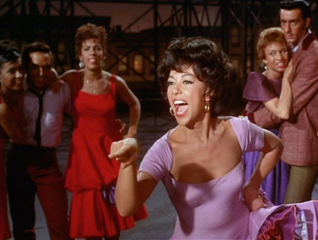 Rita Moreno En 'West Side Story'