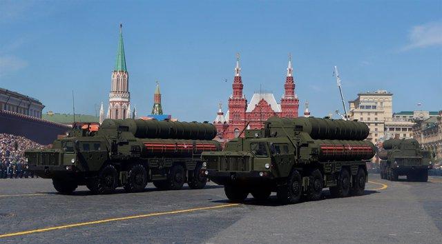 Sistema de defensa antiaérea ruso S-400