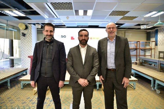 David Cierco, Francisco Polo i Carlos Grau