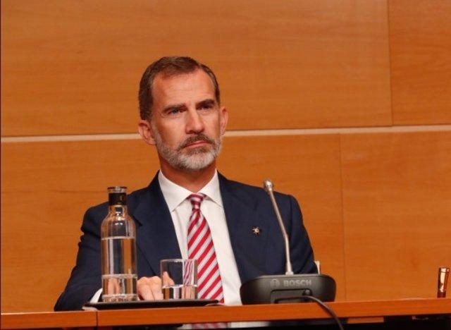Felipe VI en la UPV