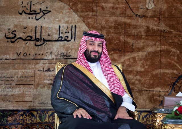 El príncipe heredero de Arabia Saudí, Mohamed bin Salmán