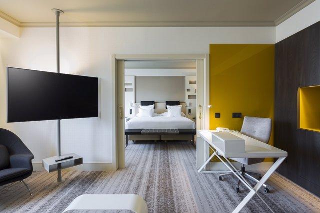 LG lidera el salto tecnológico del hotel Madrid Marriott