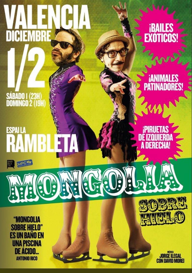 Resultado de imagen de Cancelan el espectáculo 'Mongolia sobre hielo' en Valencia