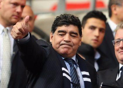 """Maradona llama """"hijo de puta"""" al presidente de CONMEBOL por trasladar a Madrid la Copa Libertadores"""