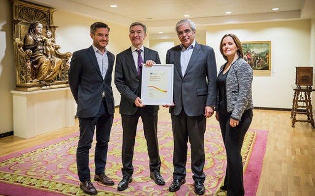 Ibercaja renueva por quinta vez el Sello a la Excelencia Europea 500+