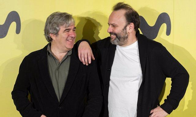 Juan Cavestany y Álvaro Fernández Armero creadores de Vergüenza