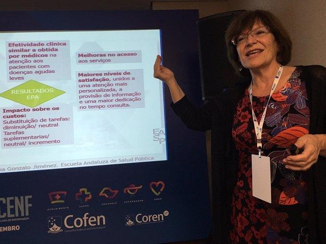 Congreso sobre práctica avanzada de la enfermería en Brasil