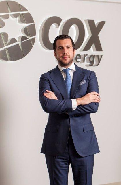 Enrique Riquelme (Cox Energy), galardonado con el Premio Nacional Joven Empresario 2018