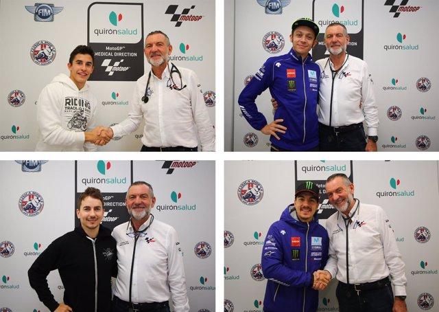 Reconocimientos Médicos MotoGP