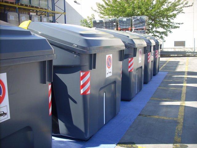 Contenedores de basura en Getafe