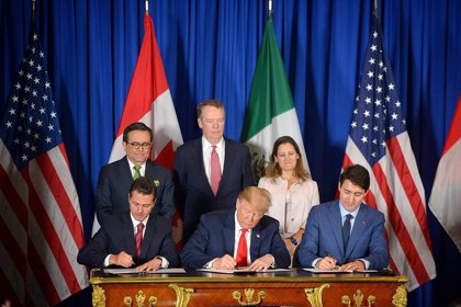 EEUU, Canadá y México rubrican su renovado acuerdo comercial