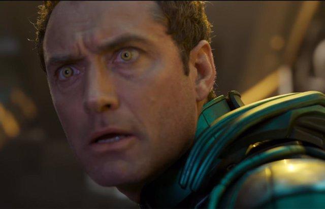 Jude Law en Capitana Marvel