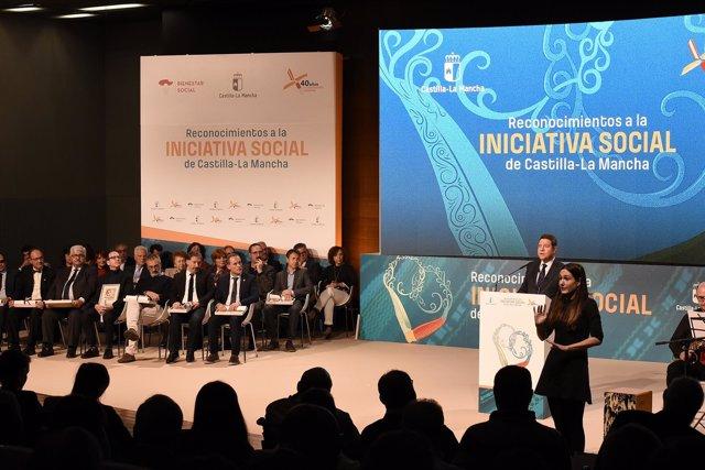 Acto de los III Reconocimientos a la Iniciativa Social de C-LM
