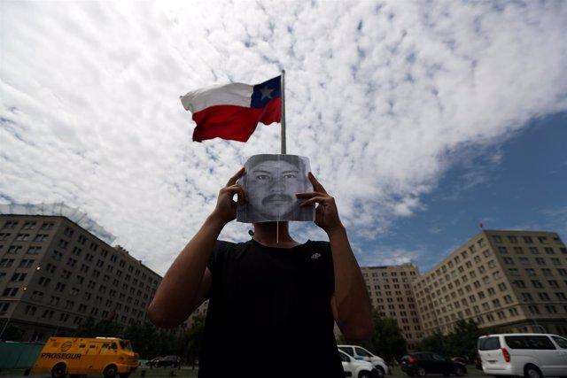Protesta por la muerte del joven mapuche Camilo Catrillanca