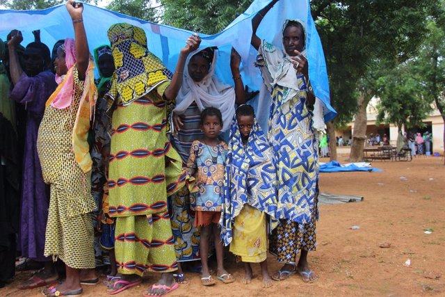 Desplazados en Malí