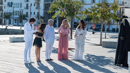 'Maestros de la Costura' graba un programa en Ibiza centrándose en la Moda Adlib