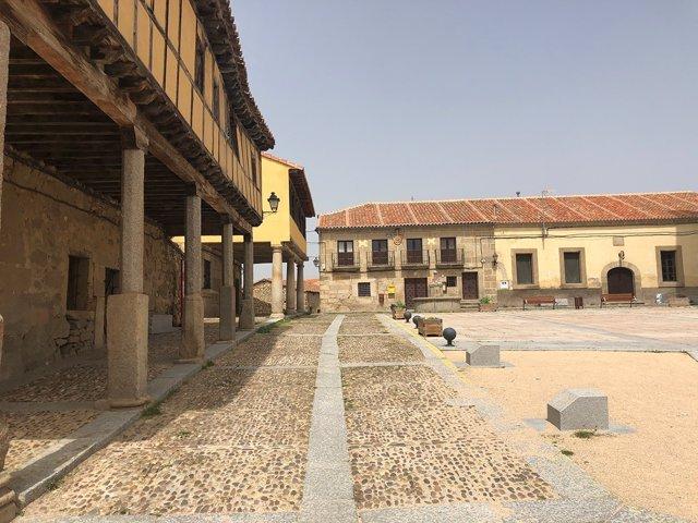 Ávila.- Plaza de Bonilla de la Sierra