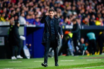 """Simeone: """"Costa está disponible, con entusiasmo y las mismas ganas de siempre"""""""