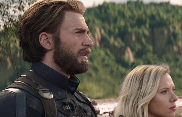Chris Evans es Capitán América en Infinity War