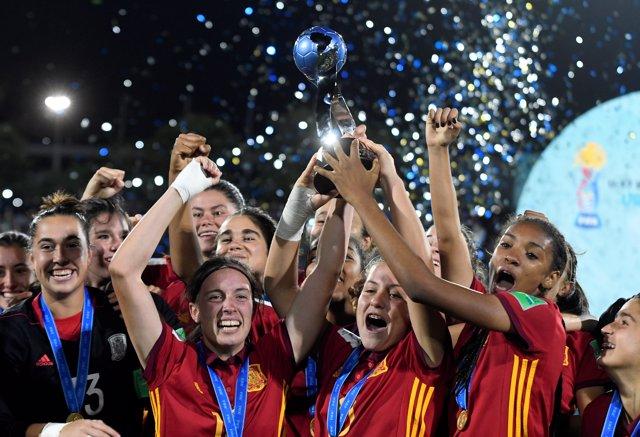 España gana el mundial de futbol femenino Sub17