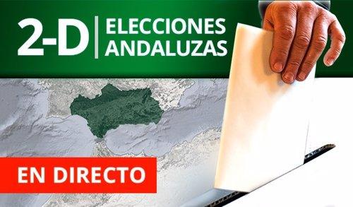 Elecciones andaluzas 2018, en directo