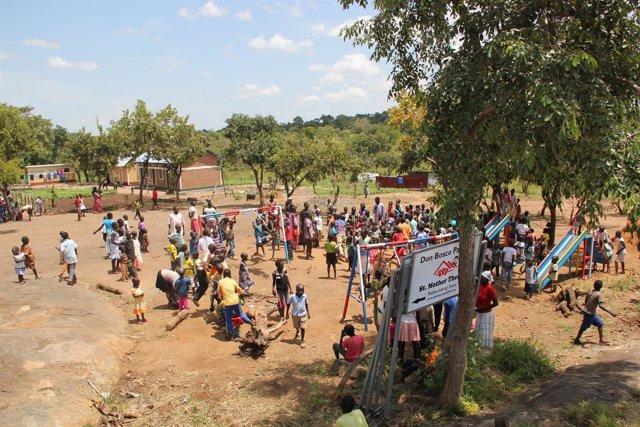 Campo de refugiados de Palabek, en Uganda