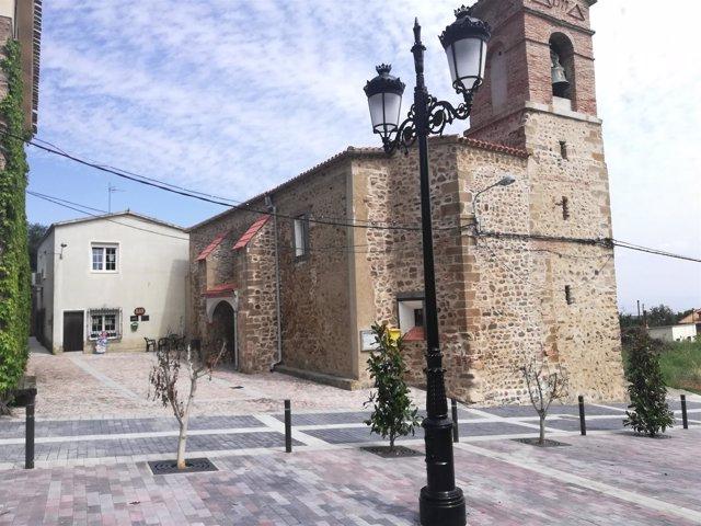 Las Ruedas de Ocón plaza