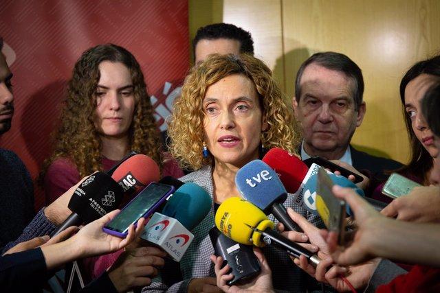 La ministra de Política Territorial y Función Pública, Meritxell Batet (ARCHIVO)