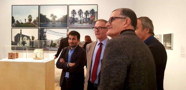 El conseller Vicent Marzà y el ministro José Guirao en les Arts