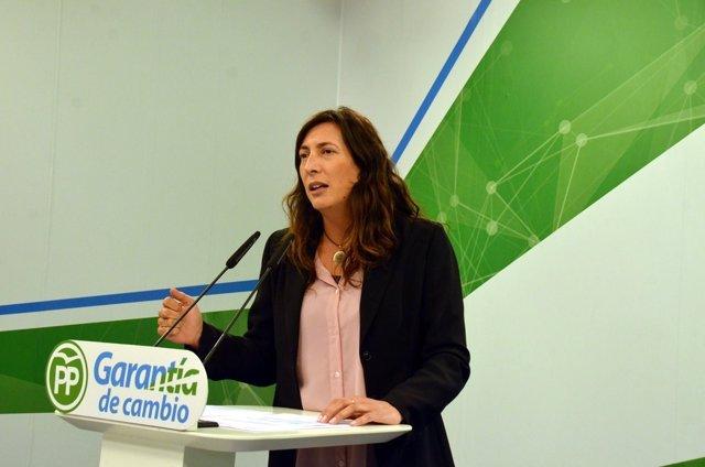 La secretaria general del PP-A, Loles López, en una foto de archivo