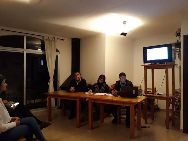 Encuentro de vecinos socialistas en Sant Joan Ibiza