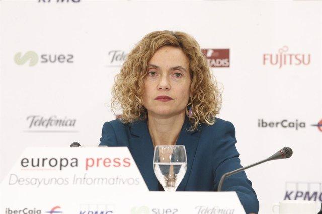 La ministra de Política Territorial, Meritxell Batet (archivo)