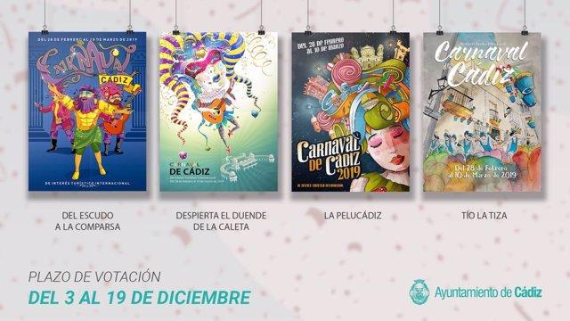 Abre este lunes la votación del Cartel del Carnaval