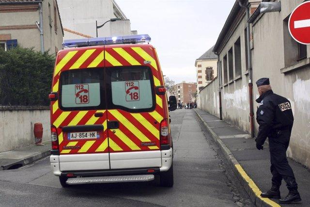 Ambulancia en Francia