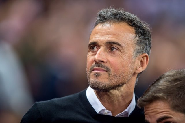 Luis Enrique Head Coach of Spain during the UEFA Nation League