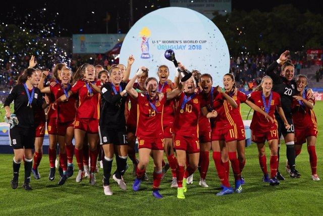 Selección Española Sub-17 Femenina de Fútbol campeonas Mundial