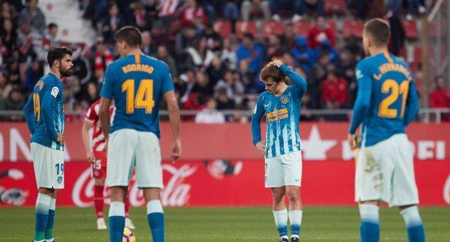 Atlético de Madrid empata en Girona