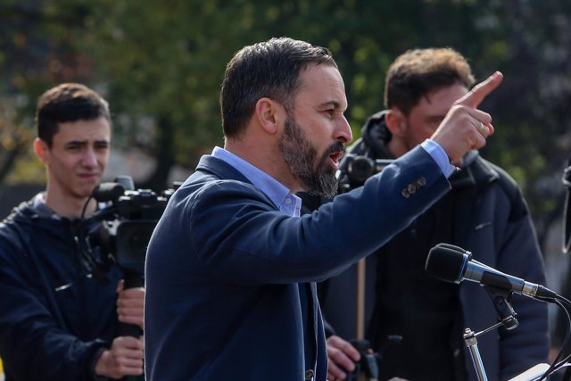 Concentración en defensa de la unidad de España que organizan la Fundación para