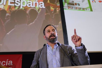"Abascal (VOX) dice que los andaluces se han ""sacudido"" 36 años de ""régimen socialista"""