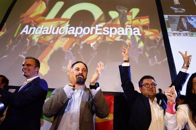 Foto de Santiago Abascal, presidente de Vox