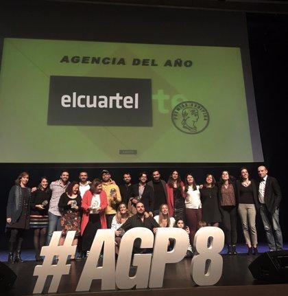 El Cuartel, única agencia española que consigue el 'Agencia del Año' por tercera vez en los premios Agripina