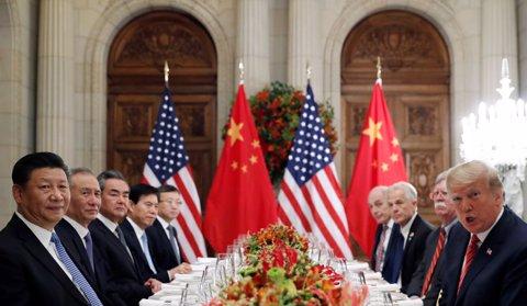 Xi Jinping y Donald Trump en Buenos Aires