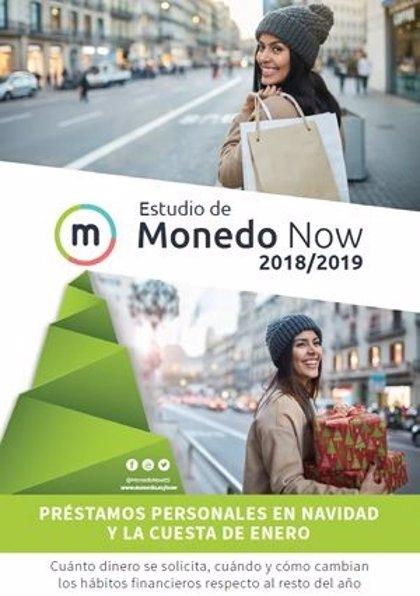 Los españoles pedirán más préstamos de hasta 3.000€ antes de Navidad, según un estudio de Monedo Now