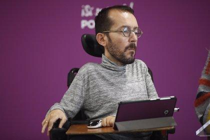 """Echenique apela a la """"autocrítica"""" y descarta romper la coalición entre Podemos e IU en Andalucía"""