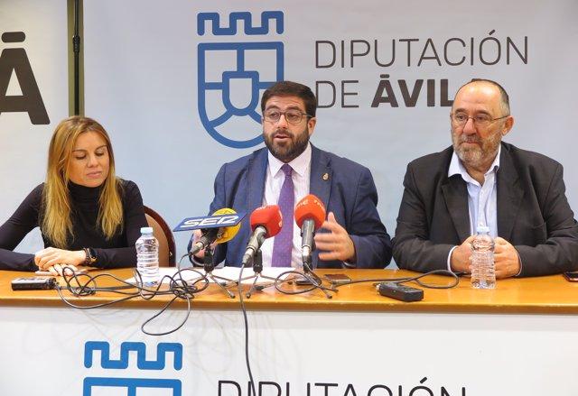Sánchez Cabrera (C) Presenta La Jornada De Las Tapas 28-11-2018